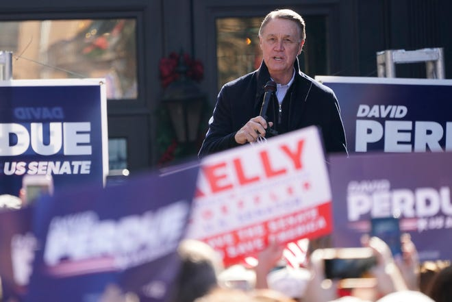 Former Sen. David Perdue filed campaign paperwork to run for Senate in 2022 only to announce he would not seek election a week later.