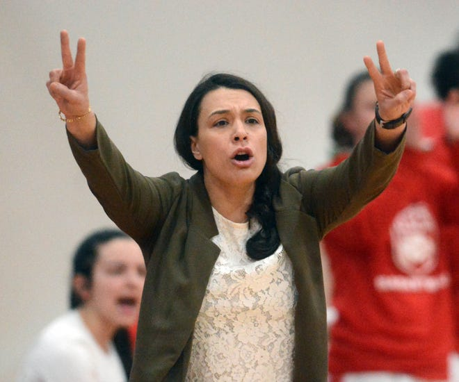 NFA girls basketball coach Courtney Gomez guided the Wildcats to an ECC championship victory in her first season at the helm.