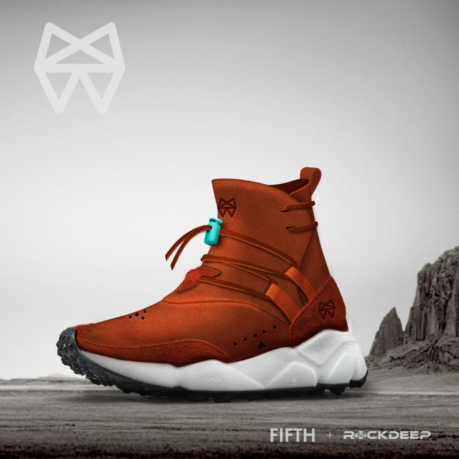 The Fifth X RockDeep M.1 Trail shoe designed by Shiprock native Dewayne Dale will be released in March but is available for preorder now.