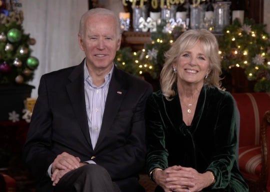 President-elect Joe Biden and wife Jill Biden gave their last interview of 2020.