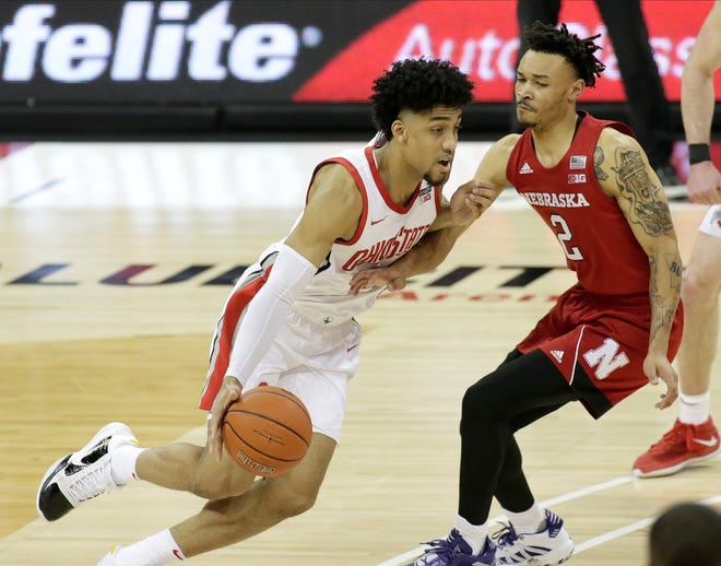Ohio State forward Justice Sueing said coach Chris Holtmann stressed that the Buckeyes quickly put last Sunday's loss to Northwestern behind them.