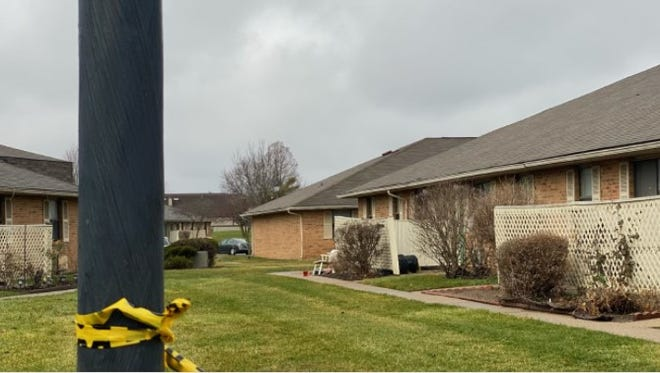 Remnants of crime scene tape remained tied to a light pole Saturday in the Muirwood Village Apartments complex, where Columbus police say 32-year-old Aaron D. Williams fatally shot his two daughters, ages 6 and 9, and then killed himself.