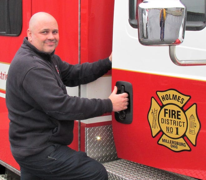 New Holmes Fire District No. 1 Chief Kyle Yoder grew up hanging around the firehouse with his dad, and has spent 25 years on the job.