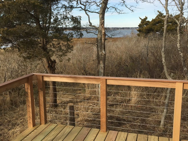 The Osprey Marsh Accessible Boardwalk in Marion is overseen by the Sippican Lands Trust.