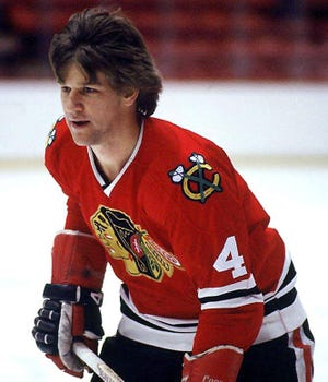 Boston Bruins legend Bobby Orr played 26 games over two seasons for the Chicago Blackhawks before retiring in 1979.