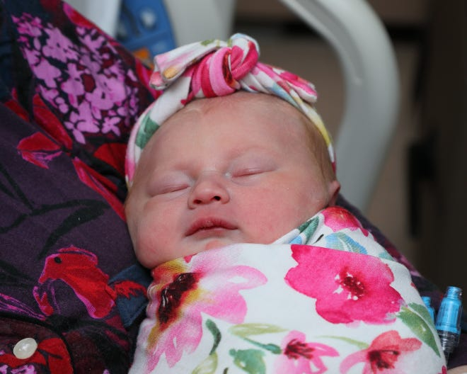 Ashley Katherine is the first baby of 2021 born at Augusta Health in Fishersville.