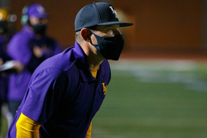 Head coach Kent Walker and the Liberty Hill Panthers lost to Killeen Ellison 12-7 Friday.