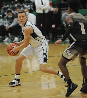 Jed Smith had 12 points in West Branch's 60-37 win over Warren JFK on Saturday night.