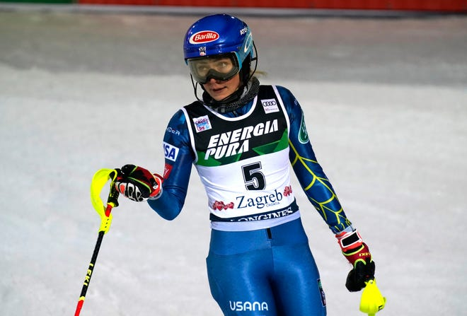 Picking up super-G training again in the third week of January could enable Mikaela Shiffrin to compete in the speed events at the world championships.