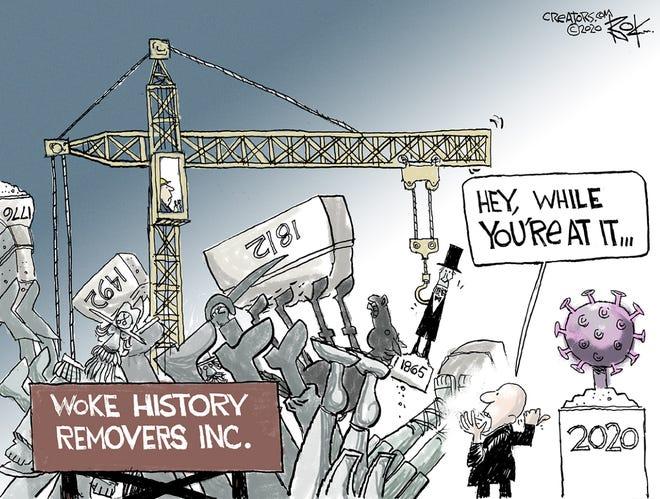 Today's editorial cartoon (Jan. 4, 2021)