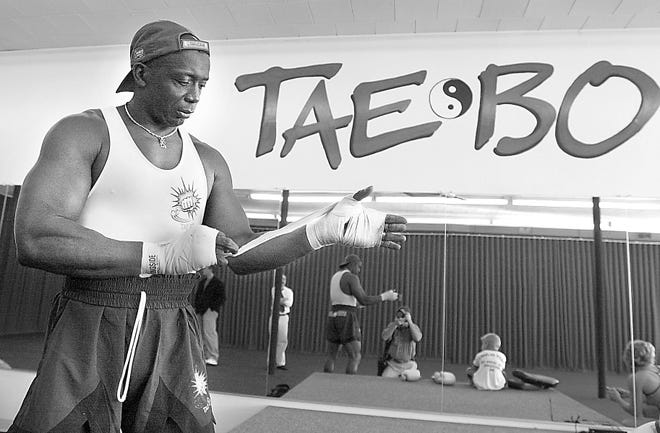 In July 2001, fitness star Billy Blanks led a series of instructional sessions at Tae-Bo of Randolph. Blanks developed the fitness craze while working at a karate studio in Quincy in the late 1990s.