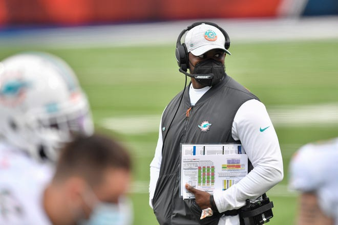 Dolphins coach Brian Flores will have two top-20 picks in the 2021 NFL Draft.