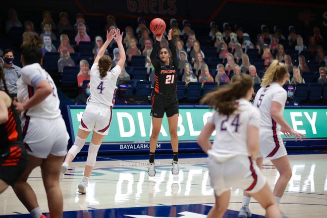 The Pacific women's basketball team hosts San Francisco Thursday night at Spanos Center.[COURTESY OF UNIVERSITY OF THE PACIFIC ATHLETICS]