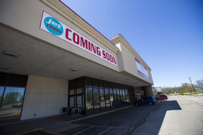 The future site of Jet Foods, a grocery company, at the 3700 block of North Main Street on Friday, May 8, 2020, in Rockford. [SCOTT P. YATES/ROCKFORD REGISTER STAR]