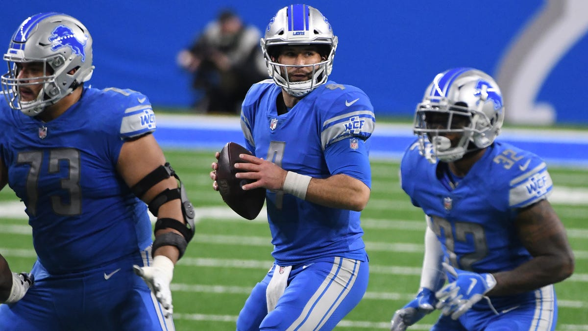 Lions continue roster purge, cutting Shelton and Daniel 2