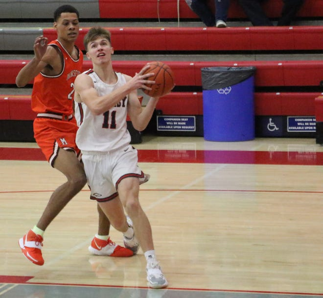 Shelby's Cody Lantz helped the Whippets claim the 2020-21 Richland County Boys Basketball Power Poll championship.