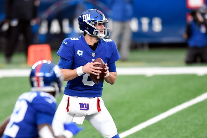 Quarterback Daniel Jones and the New York Giants will be headed to Hard Rock Stadium in 2021.