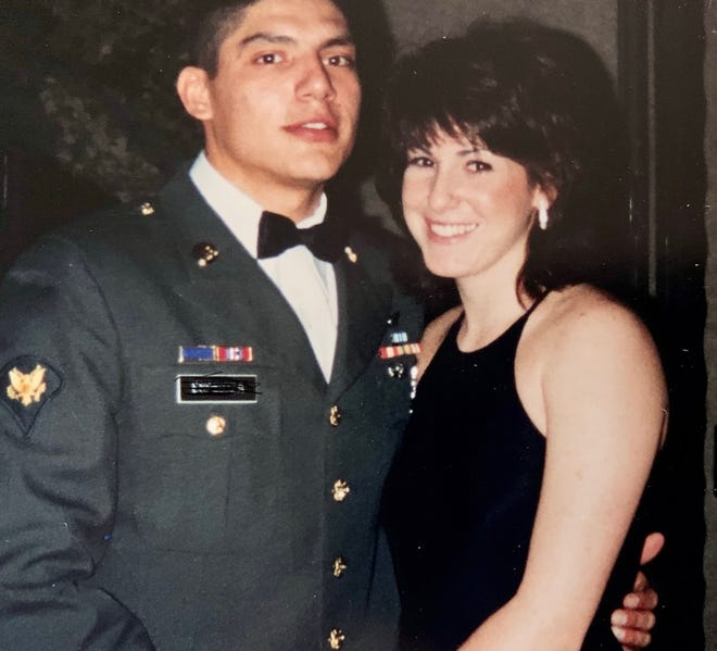 James and April Espinoza found romance in the military. The Army veterans call Simi Valley home.