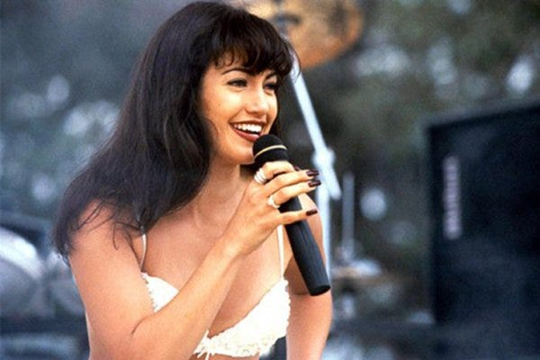 """Selena,"" starring Jennifer Lopez as the late Tejano superstar Selena Quintanilla, was released in 1997."
