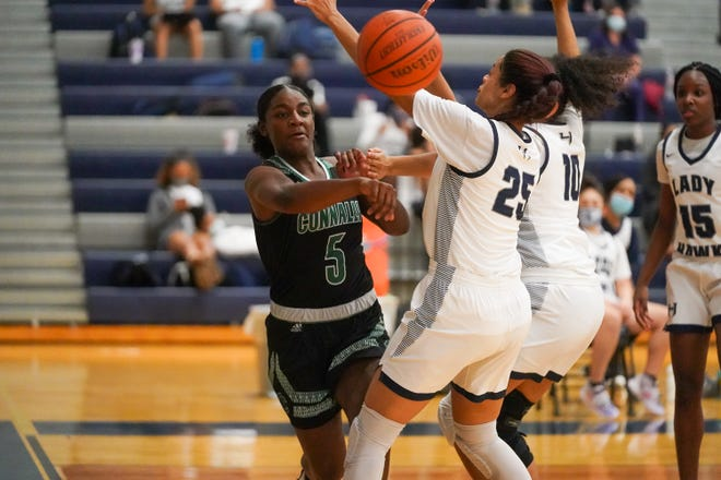 Lashiyah Fowler, Connally's leading scorer, helped the Cougars to a big win over Pflugerville last week. Connally and Pflugerville enter this week tied for second place in District 18-5A behind Hendrickson.