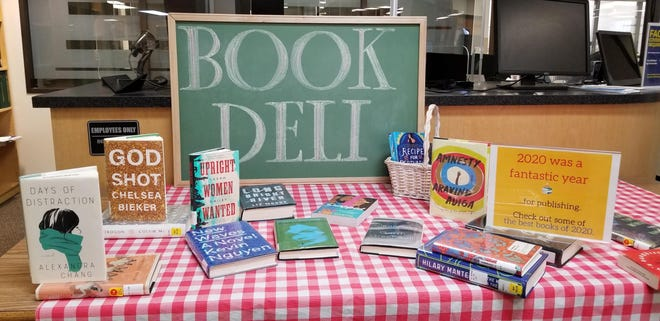 The Round Rock Library's Book Deli menu consists of old and new favorites, award-winners and staff recommendations, often grouped around a particular theme. It is available on the library's website.