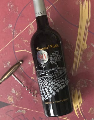 Painted Fields is a red blend from the Sierra Foothills of California.
