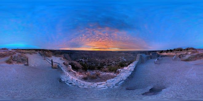 Palo Duro Canyon Sunrise