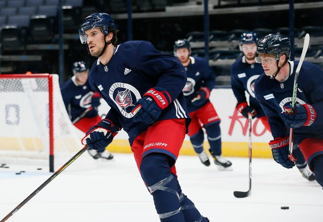 The Blue Jackets signed defenseman Michael Del Zotto, 30, to a one-year, two-way contract Sunday after inviting him to training camp on a professional tryout offer. Del Zotto, who also played for coach John Tortorella with the New York Rangers, hopes to earn a spot on the third defense pairing.