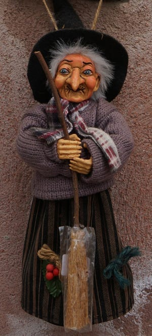 La Befana visits children on January 6, bringing gifts and good fortune with her.