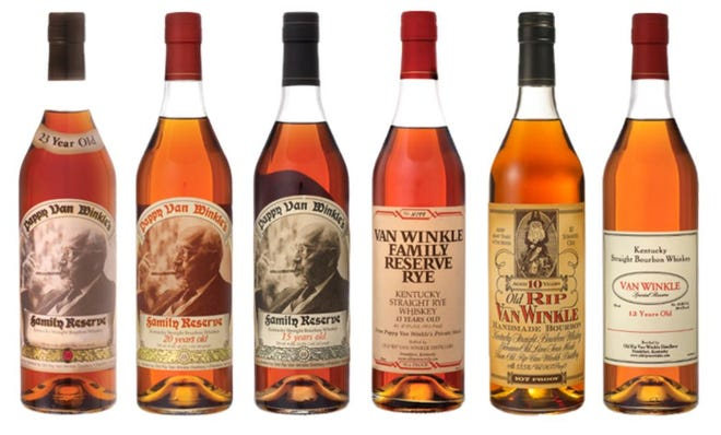 The Pennsylvania Liquor Control Board's limited-release lottery for Van Winkle 2020 products is open to Pennsylvania residents and licensees for registration through Jan. 8.