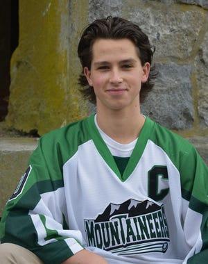 Wachusett Regional High School hockey player Luke Jodice