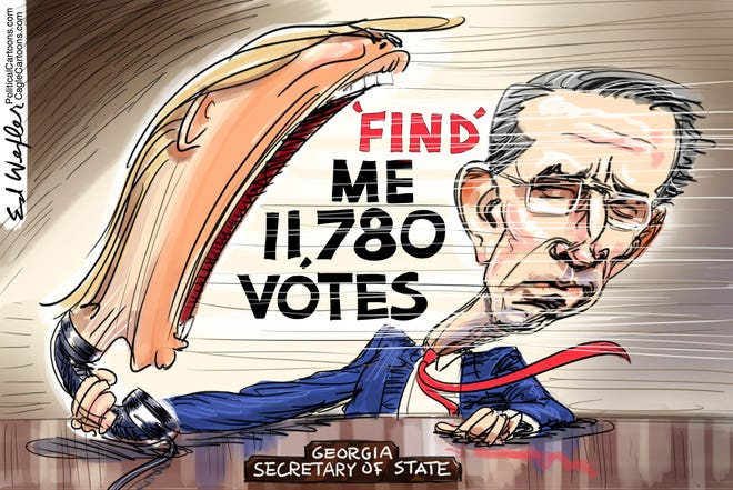 Today's editorial cartoon (Jan. 5, 2021)