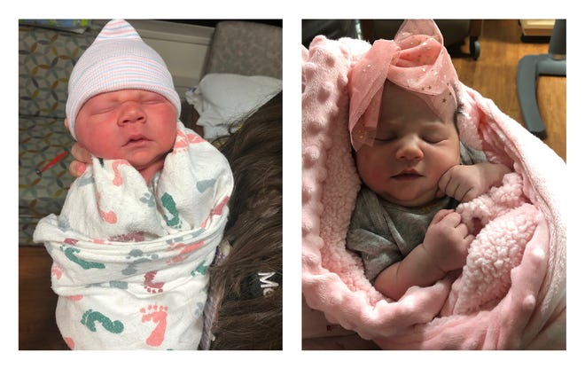 The labor and delivery team at Mercy Kids Children's Hospital in Springfield is ringing in the New Year with its first babies of 2021: Samuel Joseph and Zyanna Renee.