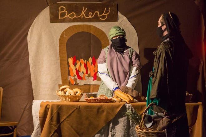 Over 1,000 people attend the Live Nativity at First United Methodist Church of Canandaigua.
