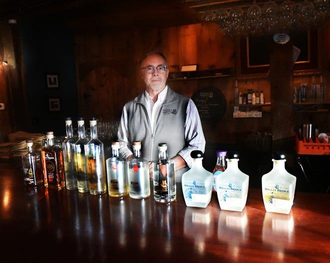Dave Woods of York's Wiggly Bridge Distillery is planning to welcome back customers aching to sample his award-winning spirits.