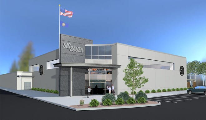 Sig Sauer Academy recently received approval for a project to construct a $13.5 million Experience Center at its Epping facility off Route 27.