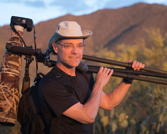 """Award-winning author and photographer Paul Bannick will talk, show video and photos of the owls he studied for a year for his book, """"Owl: A Year in the Lives of North American Owls"""" in an online York County Audubon presentation on Jan. 19."""