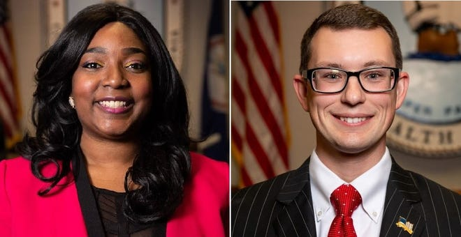 Hopewell Mayor Jasmine Gore, left, is expected to seek a second term when City Council convenes for its organizational meeting Tuesday evening. Challenging her for the second straight time will be Ward 3 Councilor Johnny Partin.