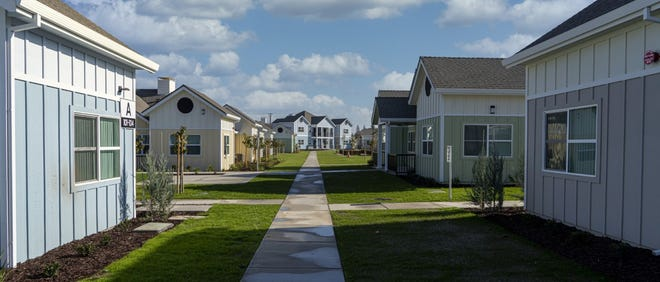 Cottage Village, a new housing community for seniors, has opened in Manteca.