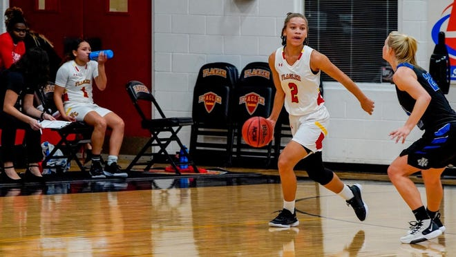 The Flagler College offense is led byTori Pearce, who'saveraging 22.5 points per game on 50% shooting with five assists and six rebounds per game.