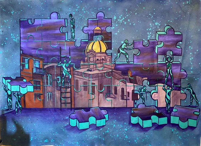'Building Together' by Xavier 'Zay' Hutchins.