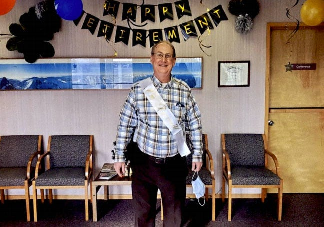 Dr. Steven Nelson is stepping down from private practice after 37 years in Yreka.