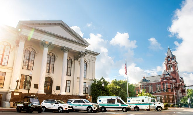New Hanover Regional Medical Center Emergency Medical Services received re-accreditation from the Commission on Accreditation of Ambulance Services.