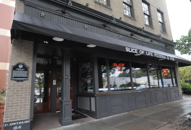 Slice of Life downtown used to be a bar called 125 Market St.