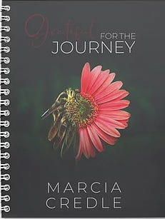 """""""Grateful for the Journey"""" is the latest and 3rd book released by New Bern native Dr. Marcia Gibbs Credle. [CONTRIBUTED PHOTO]"""