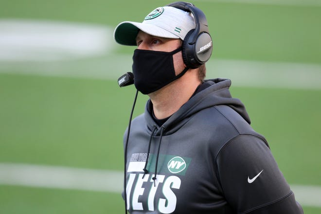 The Jets went 9-23 in two seasons under coach Adam Gase.