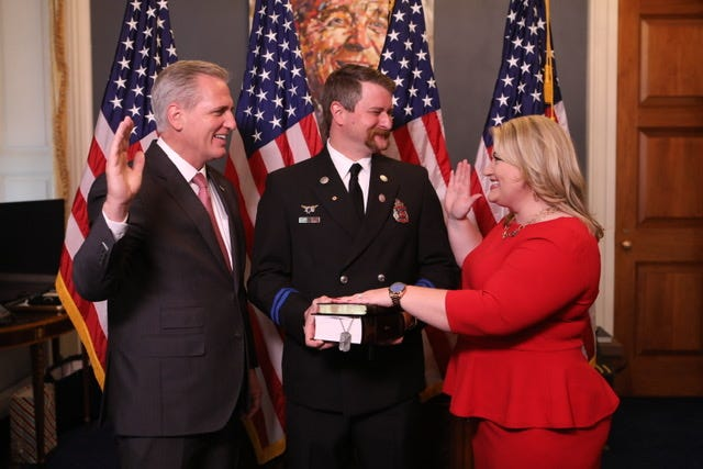 Kat Cammack is sworn in as part of the nation's 117th Congress. Cammack won the general election in November for Florida's third congressional seat, which covers Alachua, Bradford, Clay, Putnam Union and part of Marion County.