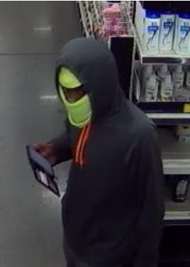 The man believed to be connected to 10 robberies in Alachua County. Local law enforcement is asking for the public's help identifying him.