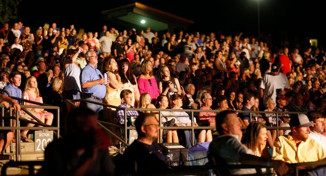 Readers said they long for a return to normal in 2021, including being able to dance to live music with a crowd. Fans watch as Little Big Town performs at the Tuscaloosa Amphitheater Friday, Aug. 16, 2019. [Staff Photo/Gary Cosby Jr.]