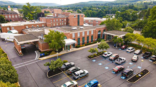 Jones Memorial Hospital seen last summer in the modern day, 100 years after its founding in Wellsville.